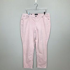 Talbots Blush Pink Corduroy Jeans.